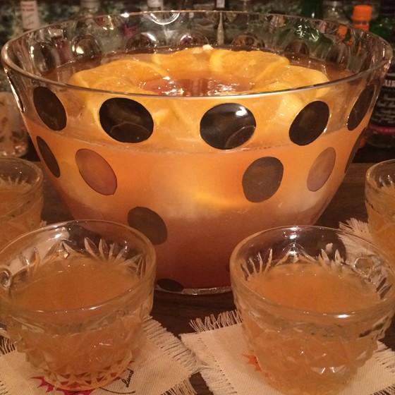 Bourbon punch. | Patrick J. Hurley