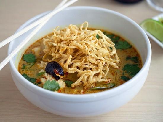 The khao soi at Fork & Stix | Jennifer Silverberg