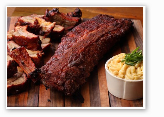 Baby back ribs with mac & cheese. | WildSmoke