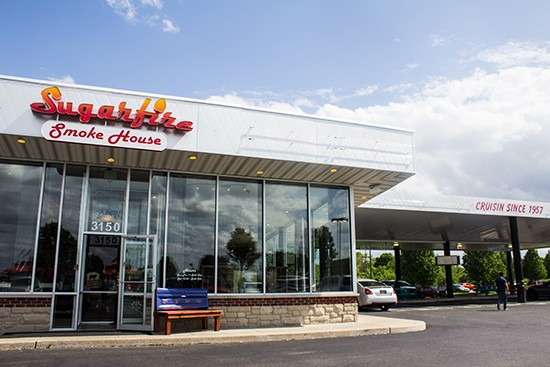Sugarfire Smokehouse's new location fills a former Chuck-A-Burger drive-in.