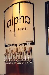 Alpha's artisan taps. - CAILLIN MURRAY
