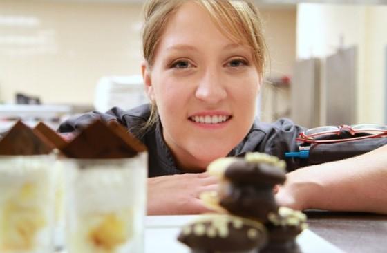Chef Mary Boehne of Strange Donuts. | Noah Besheer