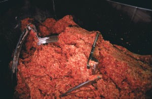 Lots and lots of ground beef, recalled. - WIKIMEDIA COMMONS