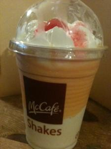 McDonald's captures the flavor of autumn in a shake. - ROBIN WHEELER