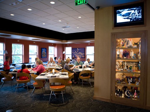 The dining room at Eclipse. - PHOTO: STEW SMITH