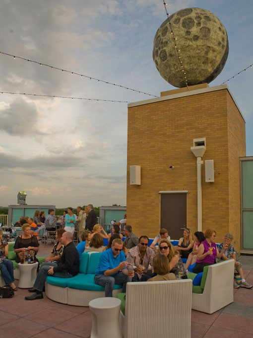 The view from atop the Moonrise Hotel's roof. - PHOTO: STEW SMITH
