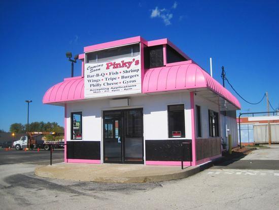 Pinky's: It's pink. - IAN FROEB