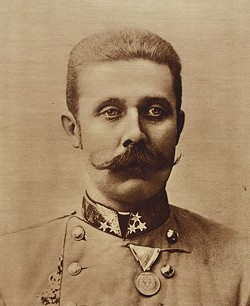 Archduke Franz Ferdinand: Do not get between this man and a deer.