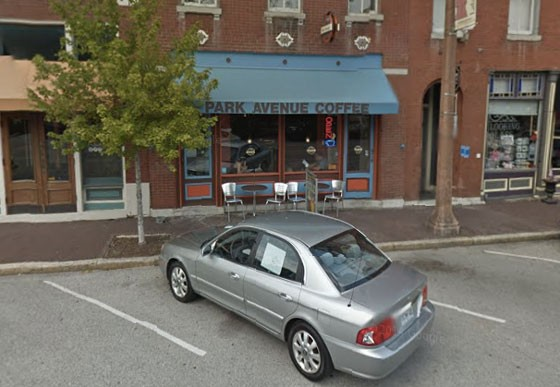 Park Avenue Coffee in Lafayette Square.   Google Street View