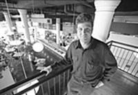 Pablo Weiss at Kitchen K, circa 2003 - JENNIFER SILVERBERG
