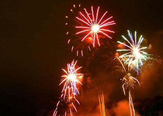 Fireworks at Fair St. Louis.   RFT Photo