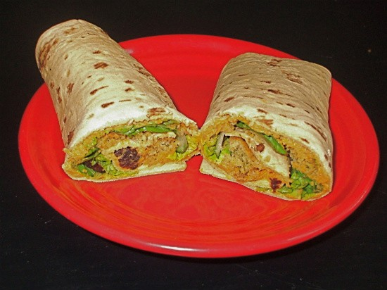 Sweet potato hummus with maple syrup will sweeten up any falafel wrap. - KRISTEN KLEMPERT