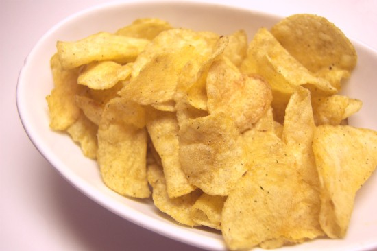 """Lay's chicken and waffle potato chips, also known as """"Hello, beautiful."""" - LIZ MILLER"""