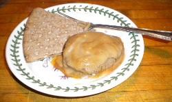 Mmmm, fishcakes in gravy... - DEBORAH HYLAND