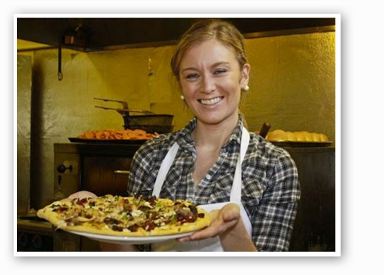 Katie Lee opens her latest pizza venture today. | Savannah Dodd