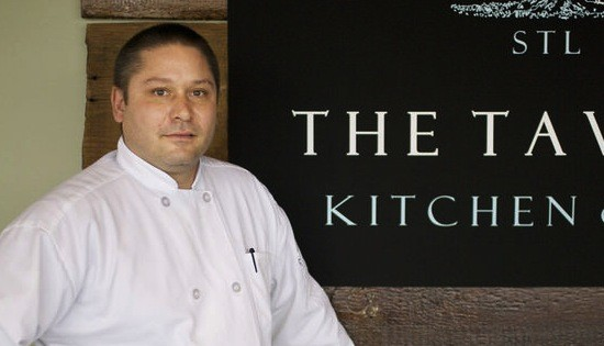 Justin Haifley, executive chef of the Tavern Kitchen & Bar in Valley Park - JENNIFER SILVERBERG