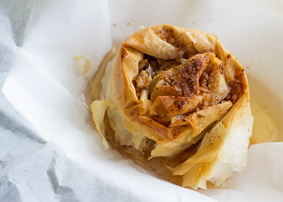 The warm and crispy baklava at Vinnie's. | Mabel Suen