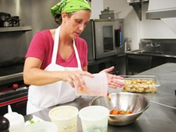 Fond owner and chef Amy Zupanci - ROBIN WHEELER