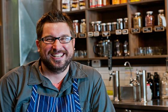 Athlete Eats' executive chef Bob Brazell | Caroline Yoo