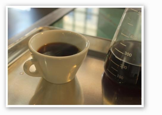 Cesmach coffee: It's better from a beaker.   Nancy Stiles