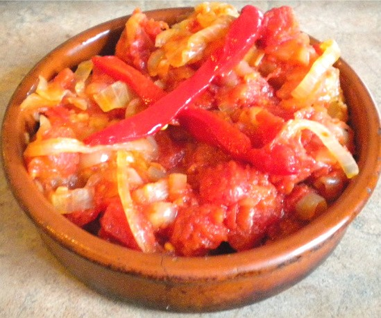 Carretero's recipe for Bacalao a la Vizcaina - DEBORAH HYLAND