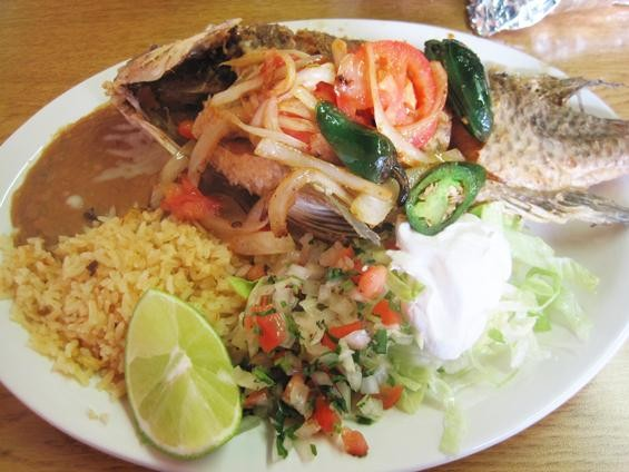 The mojarra dorada at Garduño's Mexican Food - IAN FROEB