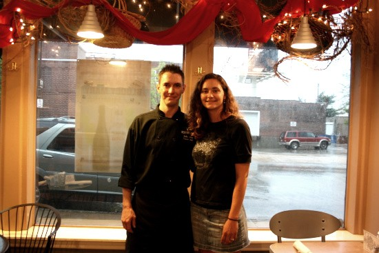 John Caton and Jessica Lenzen, co-owners of Benton Park Cafe. - CHRISSY WILMES