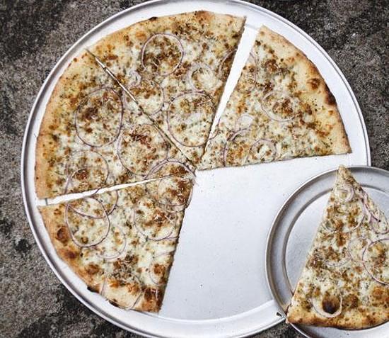 "The ""Bradley"" pizza at Epic Pizza & Subs - JENNIFER SILVERBERG"