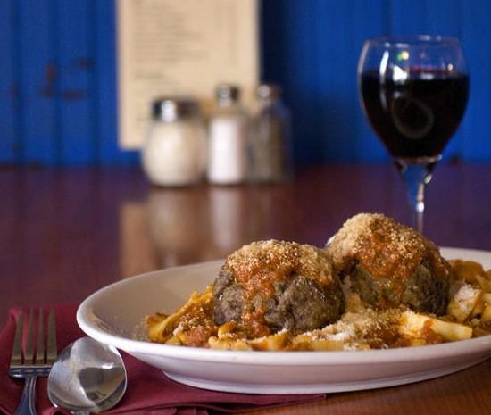 "Meatballs at this year's ""Best Italian (Cheap) Restaurant"" - JENNIFER SILVERBERG"