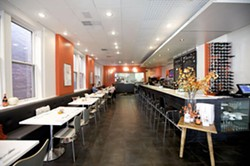 Inside Mosaic Bistro Market, now Coastal Bistro & Bar - JENNIFER SILVERBERG