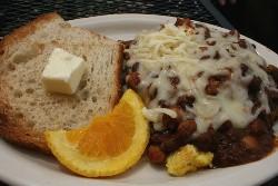 Local Harvest's vegetarian slinger - CHRISSY WILMES