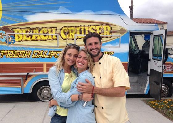 Gretta, Nicole and Shane from Beach Cruiser. | Courtesy Beach Cruiser