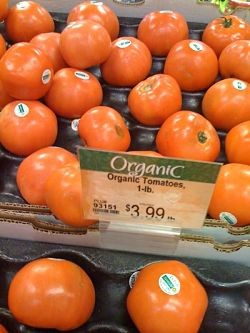 Does the organic seal automatically make them worth $3.99 a pound? - IMAGE VIA