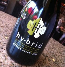 Hybrid goes great with Maull's barbecue sauce. - HOLLY FANN