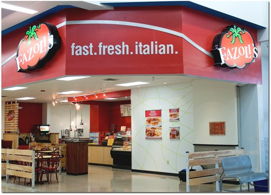 Fazoli's and Walmart go together like cheap wine and cigarettes. - COURTESY FAZOLI'S