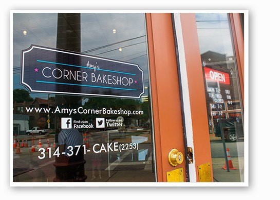 Amy's Corner Bakeshop. | Mabel Suen