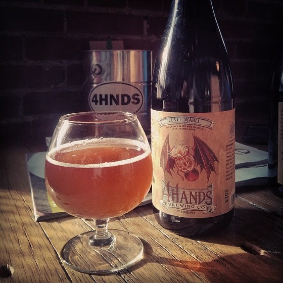 4 HANDS' CUVEE DIABLE. | JUSTIN L. PHILLIPS