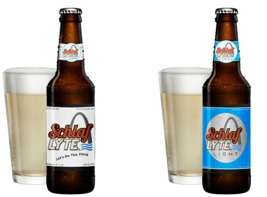 Guess which St. Louis brewery apes A-B for April Fool's Day this year... - IMAGE VIA