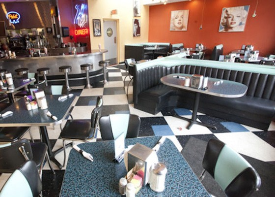 Inside City Diner on South Grand. | Sarah Rusnak