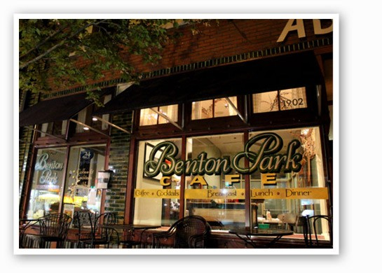 Benton Park Cafe is open all night on Saturday. | Mabel Suen