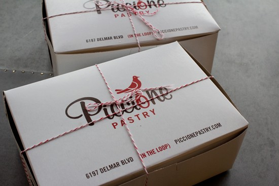 Delightful packaging at Piccione. | Mabel Suen