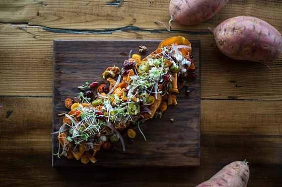 Smoked-turkey nachos at Grapeseed.   Jennifer Silverberg