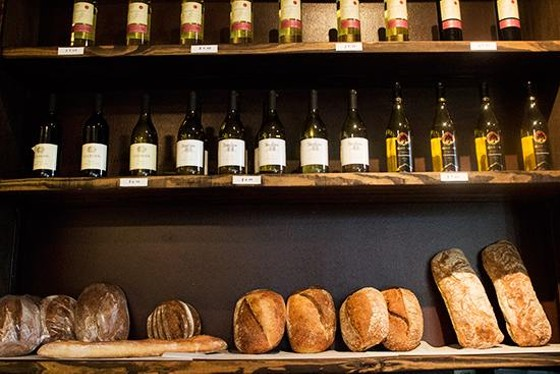Red Fox Baking & Catering's bread on display at Grove East Provisions. | Mabel Suen