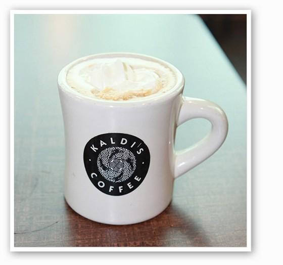 The pumpkin maple latte at Kaldi's Coffee. | Zoe Klein