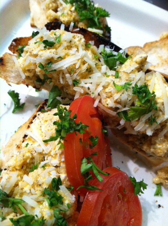 Marinated Feta Cheese at Evangeline's Bistro and Music House | Don Bailey