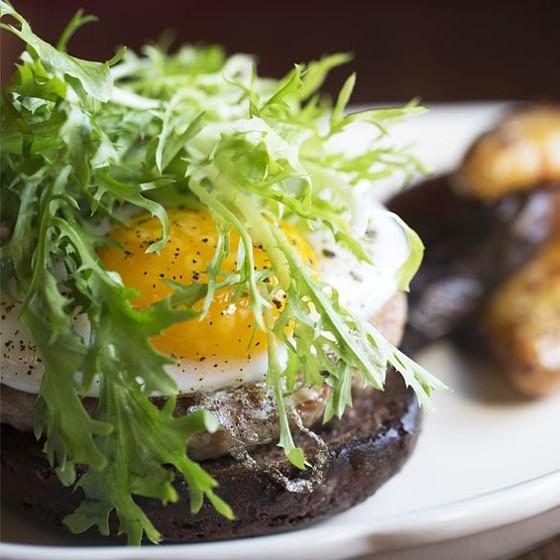 The Planter's House duck burger. | Jennifer Silverberg