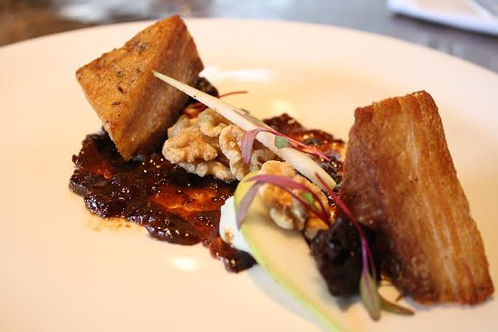 Pork Belly at Element | Brian Hardesty