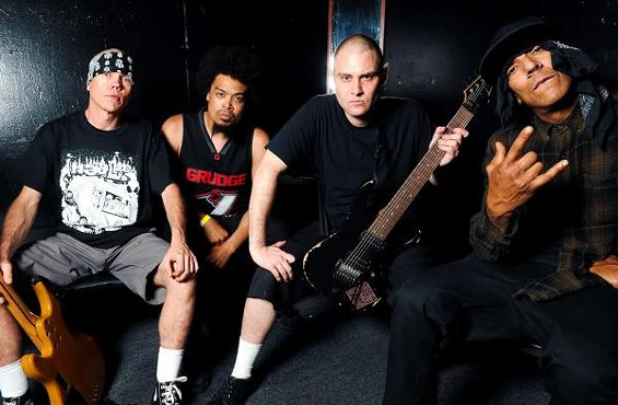 Gomes, on the far right, in this Hed PE publicity photo. - PUBLICITY PHOTO