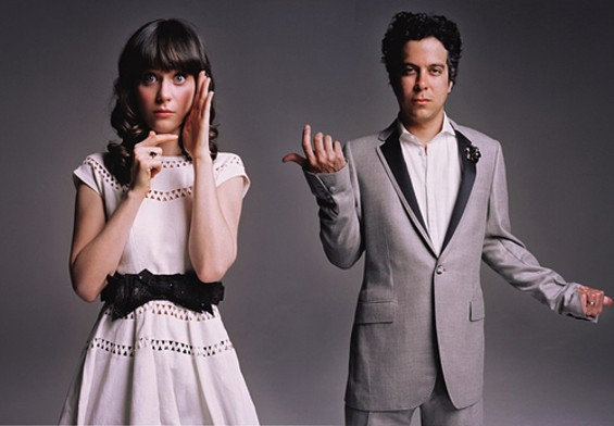 She and Him (Zooey Deschanel and M. Ward)  will close out the very first LouFest in Forest Park on August 29.