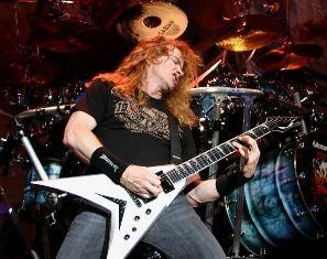 Megadeth rocker Dave Mustaine is backing former Sen. Rick Santorum's presidential bid. - METALINSIDER.NET